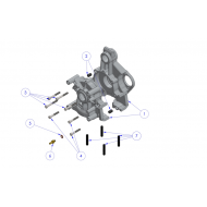 Crankcase parts EOLE 135